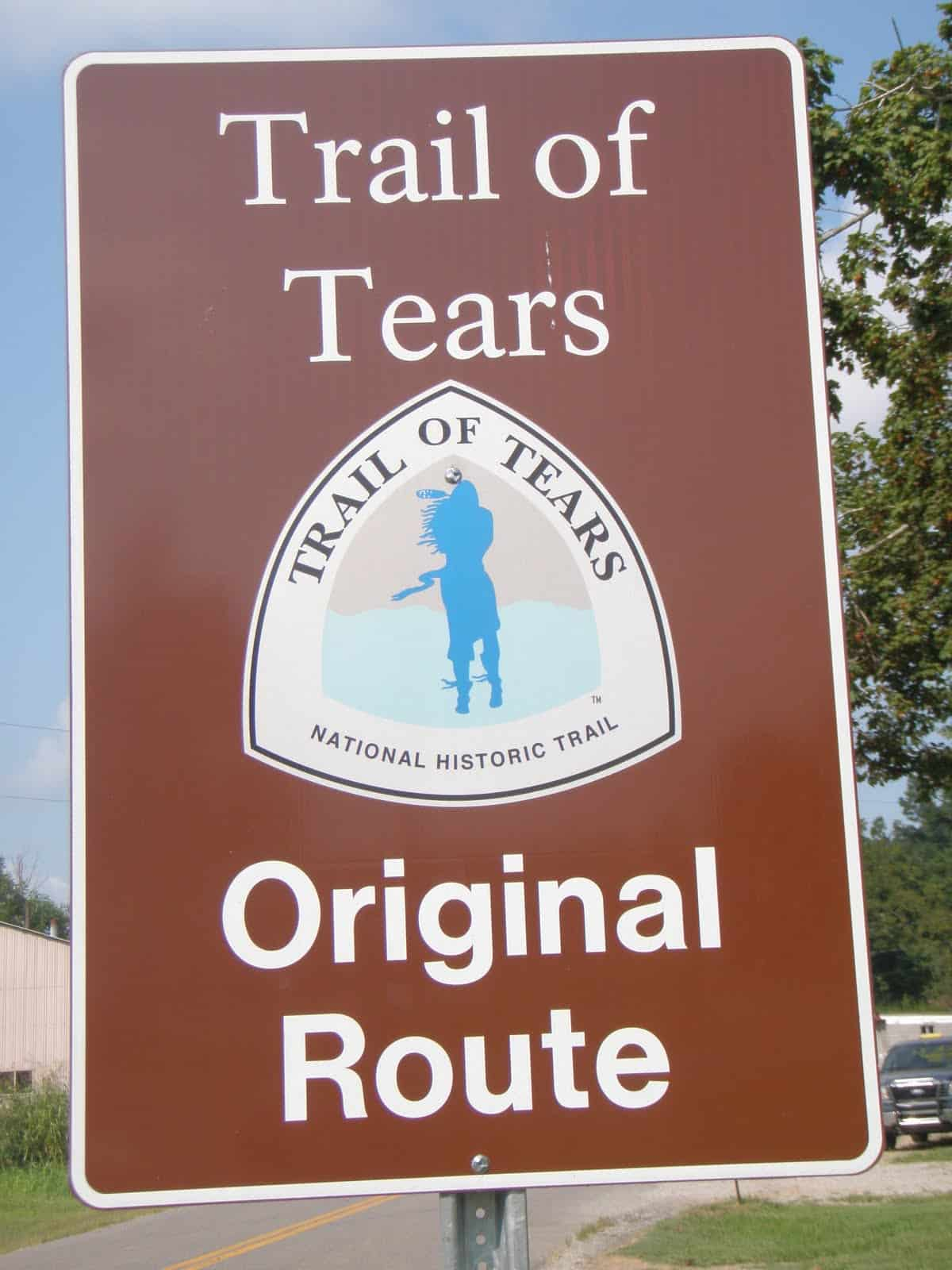 trail of fears archives sara s desk trail of tears original route