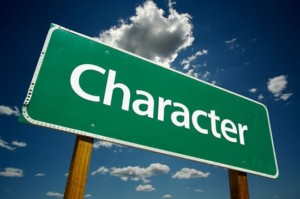 character sign