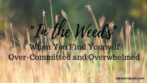 in the weeds graphic