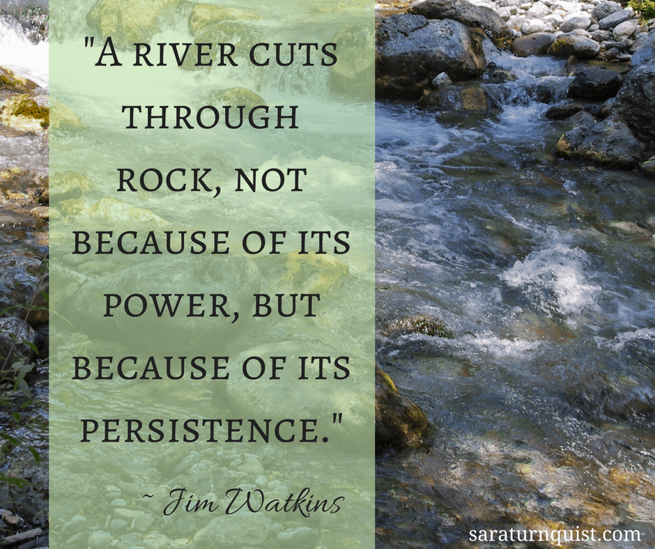 Persistence Motivational Quotes: Sara R. Turnquist's Blog